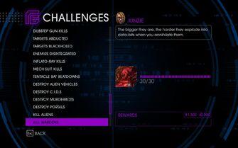 Challenge 58 Kill Wardens