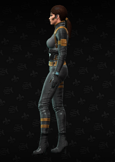 Cypher left - character model in Saints Row The Third