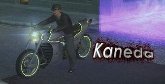 Kaneda - front left with logo and lights in Saints Row 2