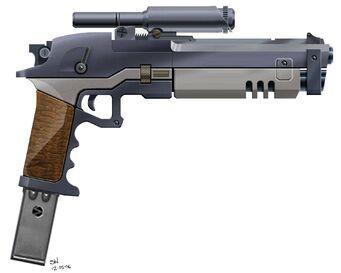 Kobra Pistol Concept Art
