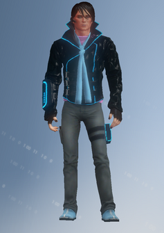 Matt Miller - character model in Saints Row IV