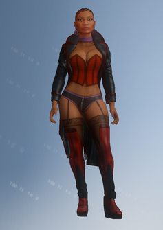 Morningstar - Zoey - character model in Saints Row IV