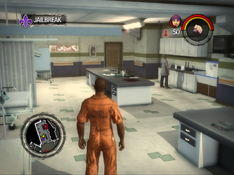 Saints Row 2 correct standard aspect ratio - high settings