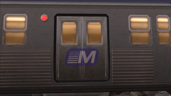Stilwater Transit logo on El Train in Saints Row