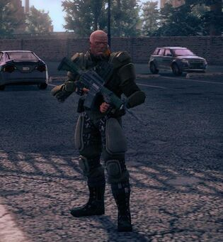 Cyrus Temple in Steelport Saints Row IV
