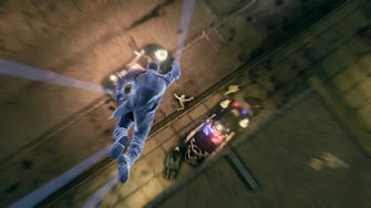 Saints Row IV Announce Teaser - flying ground punch