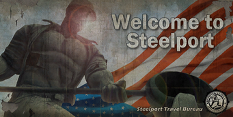 Steelport c d SRTT sign