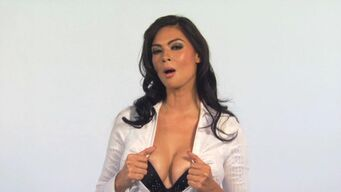 Tera Patrick in promo for Saints Row 2