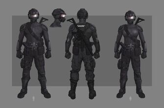 Zero Saints Thirty Outfit Concept Art