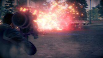 Alien RPG explosion