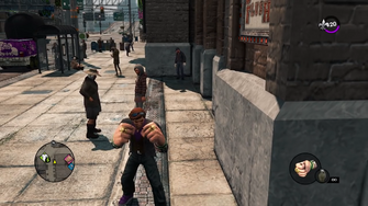 Apoca-Fist in the Saints Row - The Third Open World Gameplay trailer