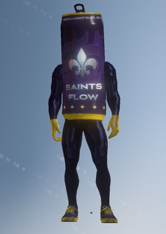 Gang Customization - Mascot 2 - Saints Flow - in Saints Row IV