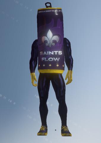 Gang Customization - Mascot 2 - Saints Flow - in Saints Row IV
