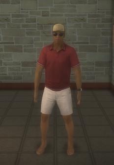 Lifeguard - black generic - character model in Saints Row 2