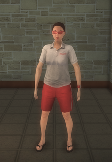 Lifeguard - white female copy - character model in Saints Row 2