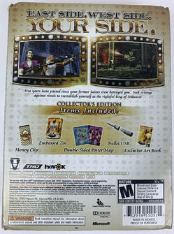 Saints Row 2 - back of box