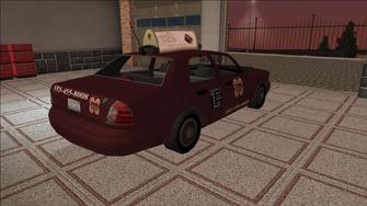 Saints Row variants - Taxi - TNA - rear right