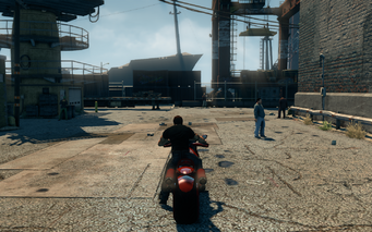 Bloody Cannoness - rear in Saints Row The Third