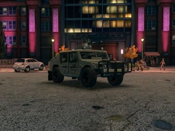 Bulldog - Military with Turret variant - front right in Saints Row The Third