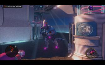 Hangar 18.5 - Kill Alien Brute