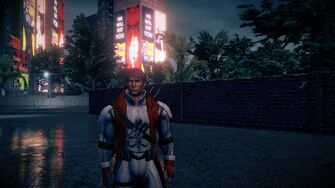Nyte Blade as a homie in Saints Row IV