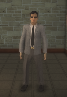 Business male - asian with glasses - character model in Saints Row 2