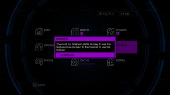 Camera - must use GOG Galaxy