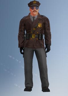Cop - motorcycle - Jones - character model in Saints Row IV