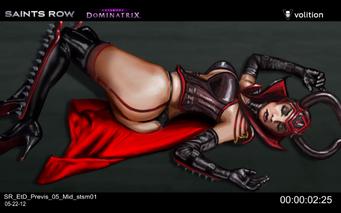 Escape the Dominatrix - Dominatrix dead concept art