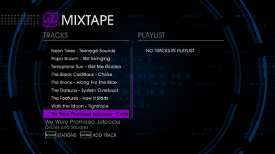 GenX 89 tracks in Saints Row IV - last 9 tracks