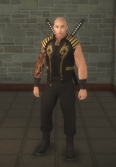 Jyunichi - character model in Saints Row 2