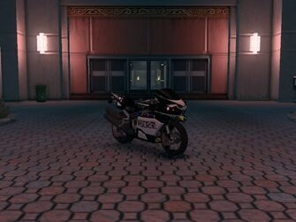 Kenshin - Police variant - front right in Saints Row The Third