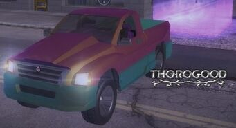 Thorogood - front left with lights and logo in Saints Row 2