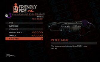 Weapon - Melee - Incinerator - Upgrades