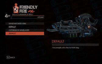 Weapon - Special - Minethrower Arm - Oppressor Minelayer - Default