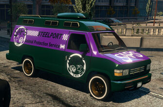 Anchor - Escort2 SAPS - front right in Saints Row IV