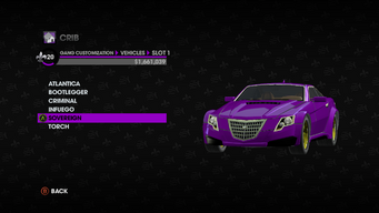 Gang Customization in Saints Row The Third - Sovereign