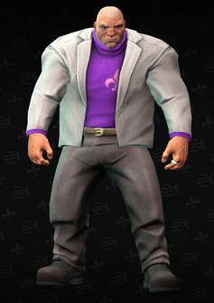 Oleg - character model in Saints Row The Third