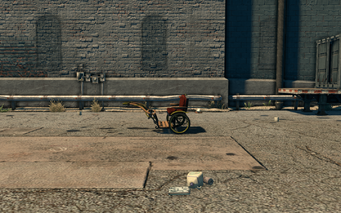 Pony Cart - left in Saints Row The Third