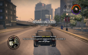 Race Car unlocked SR2