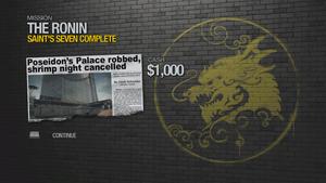 Saint's Seven - complete 1000 cash