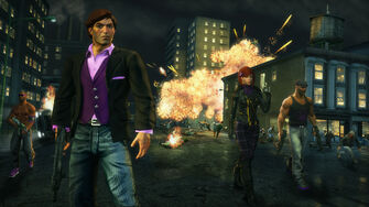Saints Row The Third promo - various versions of Playa