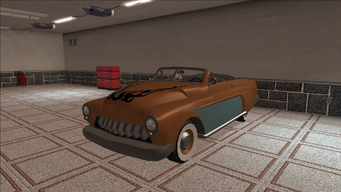 Saints Row variants - Gunslinger - Classic Convertible - front left