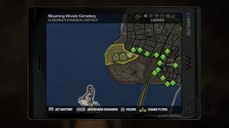 Secret Area - Cemetery Sex Cavern on map