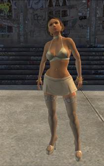 Tanya Winters - character model in Saints Row