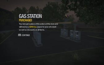 Gas Station in New Hennequet purchased in Saints Row 2