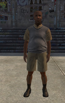 MiddleAge male 01 - black - character model in Saints Row