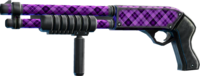 SRIV Shotguns - Pump-Action Shotgun - Deacon 12-Gauge - Purple Plaid