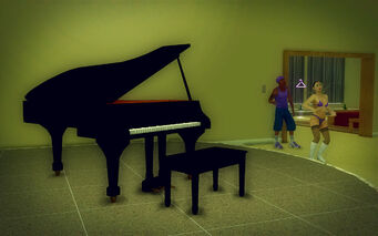 Saints Row Mega Condo - Average - Grand Piano