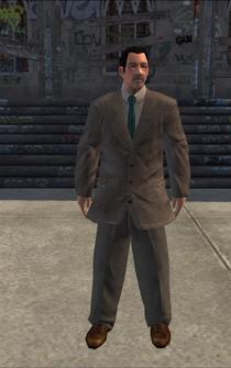 BusinessMan - cutscene - character model in Saints Row